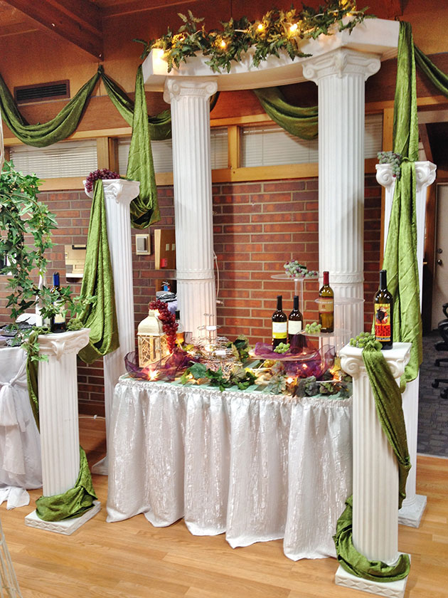 Arches Props Portfolio Grand Events Party Rentals